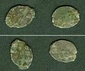 1682-1725 1 Kopeke Lot:  Russland 2x (Draht-) Kopeke  Peter I.  s  [16... 9,80 EUR  zzgl. 3,90 EUR Versand