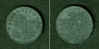 1945 Kursmünzen DEUTSCHES REICH 1 Reichspfennig 1945 E (J.369)  ss-vz ... 47,80 EUR  zzgl. 3,90 EUR Versand