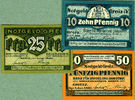 1921 Notgeldscheine Lot: Notgeld Serienscheine 3x GREIZ  I  [1921] BAN... 9,80 EUR  zzgl. 3,90 EUR Versand
