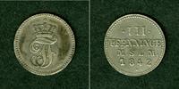 1842 Mecklenburg Mecklenburg Schwerin 3 Pfenninge 1842  f.vz  selten f... 19,80 EUR  zzgl. 3,90 EUR Versand