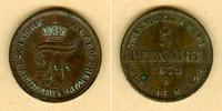 1872 Mecklenburg Mecklenburg Schwerin 5 Pfenninge 1872 B  vz+ vz+  19,80 EUR  zzgl. 3,90 EUR Versand