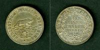 1861 Anhalt Anhalt Bernburg 1/6 Taler 1861 A  f.vz  selten fast vz  27,80 EUR  zzgl. 3,90 EUR Versand