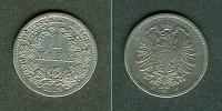 1883 Kleinmünzen 1 Mark Deutsches Reich 1 Mark 1883 F (J.9)  s-ss  sel... 44,80 EUR  zzgl. 3,90 EUR Versand