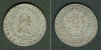 1806 Haus Habsburg Österreich RDR 20 Kreuzer 1806 G (Ungarn) ss ss  24,80 EUR  zzgl. 3,90 EUR Versand