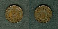 1939 Lettland LETTLAND 2 Santimi 1939  vz-stgl. vz-stgl.  7,80 EUR  zzgl. 3,90 EUR Versand