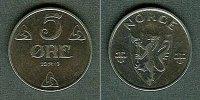 1941 Norwegen NORWEGEN 5 Öre 1941 f. stgl. fast stgl.  10,80 EUR  zzgl. 3,90 EUR Versand