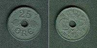 1943 Dänemark DÄNEMARK 25 Öre 1943  ss-vz ss-vz  9,80 EUR  zzgl. 3,90 EUR Versand