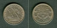 1967 Portugal PORTUGAL 5 Escudos 1967  stgl. stempelglanz  10,80 EUR  zzgl. 3,90 EUR Versand