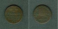 1814 Braunschweig Braunschweig 1 Pfenning 1814 MC  f.ss/s-ss fast ss/s... 9,80 EUR  zzgl. 3,90 EUR Versand
