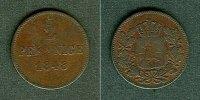 1848 Bayern Bayern 2 Pfennige 1848  f.ss fast ss  9,80 EUR  zzgl. 3,90 EUR Versand