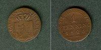 1826 Brandenburg-Preußen Preussen 1 Pfenning 1826 A  ss ss  11,80 EUR  zzgl. 3,90 EUR Versand