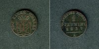 1837 Brandenburg-Preußen Preussen 1 Pfenning 1837 A  ss ss  9,80 EUR  zzgl. 3,90 EUR Versand