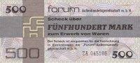 1979 Forum Außenhandelsgesellschaft, Sonstige DDR: Forum-Scheck 500 MA... 37,80 EUR  zzgl. 3,90 EUR Versand
