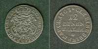 Sachsen-Albertinische Linie  Sachsen 1/12 Taler (Doppel-Groschen) 1763 IFoF  ss+