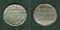 1651 Sachsen-Weimar-Eisenach Sachsen Weimar 3 Pfennige / Spruchdreier ... 66,00 EUR  zzgl. 3,90 EUR Versand