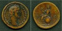 140-144 Antoninus Pius ANTONINUS PIUS  Sesterz  ss+  selten  [140-144]... 498,00 EUR