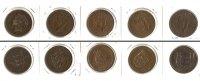 1888-1947 Großbritannien Lot:  GB JERSEY 5x Münzen  1/12 Shilling  [18... 22,80 EUR  zzgl. 3,90 EUR Versand