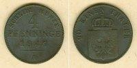 1847 Brandenburg-Preußen Preussen 4 Pfenninge 1847 A  f.ss/s-ss  selte... 27,80 EUR