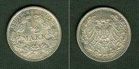 1917 Kleinmünzen 1/2 Mark Deutsches Reich 1/2 Mark 1917 G  vz-stgl.  s... 34,80 EUR  zzgl. 3,90 EUR Versand