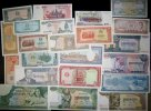 Kambodscha  Lot: KAMBODSCHA / KHMER  22x Banknote  I-  [1956-2002]