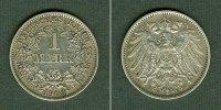 1906 Kleinmünzen 1 Mark Deutsches Reich 1 Mark 1906 E  f.vz fast vz  14,80 EUR  zzgl. 3,90 EUR Versand