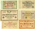 1923 Notgeldscheine Lot: Notgeld Inflation 6x Deutsche Reichsbahn  II ... 10,80 EUR  zzgl. 3,90 EUR Versand