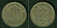 1898 Kleinmünzen 10 Pfennig DEUTSCHES REICH 10 Pfennig 1898 G  s-ss  s... 10,80 EUR