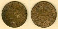 1895 Frankreich FRANKREICH 10 Centimes 1895 A  vz vz  66,00 EUR  zzgl. 3,90 EUR Versand