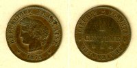 1875 Frankreich FRANKREICH 1 Centime 1875 A  ss+ ss+  14,80 EUR  zzgl. 3,90 EUR Versand