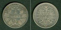 1885 Kleinmünzen 1 Mark Deutsches Reich 1 Mark 1885 A (J.9)  ss ss  13,80 EUR  zzgl. 3,90 EUR Versand