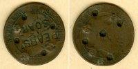 1862 Frankreich FRANKREICH 10 Centimes 1862 K  GEGENSTEMPEL  ss ss  9,80 EUR