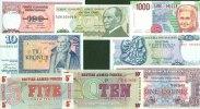 1948-1990 Sonstige & Lots Lot: EUROPA / EUROPE Mix  8x Banknote  I  [1... 15,80 EUR  zzgl. 3,90 EUR Versand