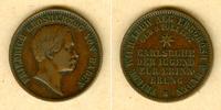 1857 Baden Baden 1 Kreuzer 1857  Geburt Erbherzog  ss+ ss+  19,80 EUR  zzgl. 3,90 EUR Versand