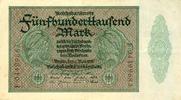 1923 Geldscheine Inflation 1919-1924 500.000 MARK 1923  Ro.87b  III+ I... 7,80 EUR  zzgl. 3,90 EUR Versand