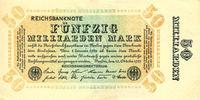 1923 Geldscheine Inflation 1919-1924 50.000.000.000 MARK 1923  Ro.116h... 34,80 EUR