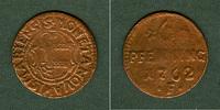 1762 Wismar Mecklenburg Stadt Wismar 6 Pfenning 1762 F  s-ss s-ss  14,80 EUR  zzgl. 3,90 EUR Versand
