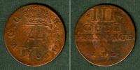 1766 Mecklenburg Mecklenburg Schwerin 3 Pfennige 1766 IHL  ss/s-ss ss/... 19,80 EUR  zzgl. 3,90 EUR Versand