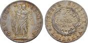 5 Francs 1801 (Lán 10), Turin. ITALIEN  Vorzüglich +