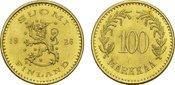 100 Markkaa 1926, Helsinki. FINNLAND 2. Re...