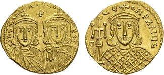 AV-Solidus (757/775), Konstantinopel BYZAN...