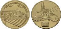 Vergoldete Nickelmedaille 1987. KÖLN  Fast Stempelglanz  12,00 EUR  zzgl. 4,50 EUR Versand