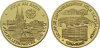 Vergoldete Bronzemedaille 1989. KÖLN  Polierte Platte  17,00 EUR  zzgl. 4,50 EUR Versand