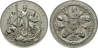 Versilberte Bronzemedaille (von A.Scharf 1...