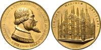 Bronzemedaille (von F.Broggi). o.J., ITALIEN  Kupfer, feuervergoldet. -... 160,00 EUR  zzgl. 4,50 EUR Versand