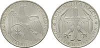 3 Mark 1929 A. WEIMARER REPUBLIK  Fast Stempelglanz.  150,00 EUR  zzgl. 4,50 EUR Versand