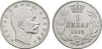 Dinar 1915. SERBIEN Peter I., 1903-1918. Fast Stempelglanz  60,00 EUR  zzgl. 4,50 EUR Versand