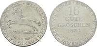 16 gute Groschen 1834 A. HANNOVER Wilhelm IV.1830 - 1837. Vorzüglich - ... 120,00 EUR  zzgl. 4,50 EUR Versand