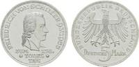 BUNDESREPUBLIK DEUTSCHLAND 5 DM Friedrich von Schiller