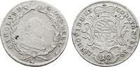 10 Kreuzer 1765 Stuttgart. WÜRTTEMBERG Karl Eugen, 1744-1793. Sehr schö... 75,00 EUR  zzgl. 4,50 EUR Versand