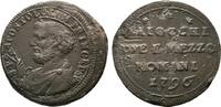 2 1/2 Baiocchi 1796, Rom. ITALIEN Pius VI., 1775-1799. Kratzer; Sehr sc... 45,00 EUR  zzgl. 4,50 EUR Versand